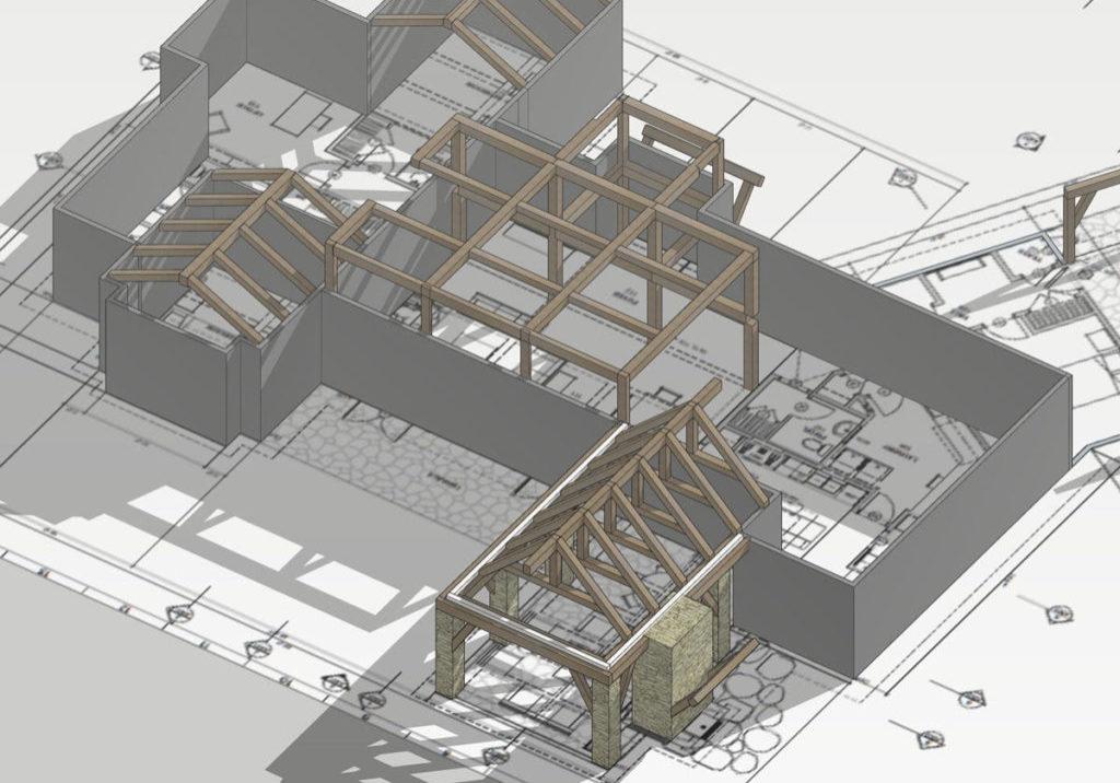 3D-Website-model
