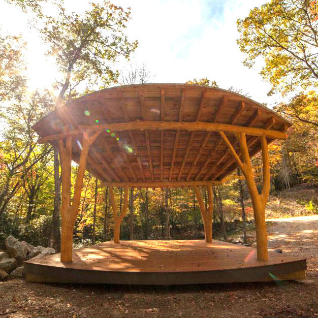 Pilot-Cove-Forest-Lodging-Outdoor-Events-Pavilion-Ampitheatre-Near-Pisgah-National-Forest-19-1030x626
