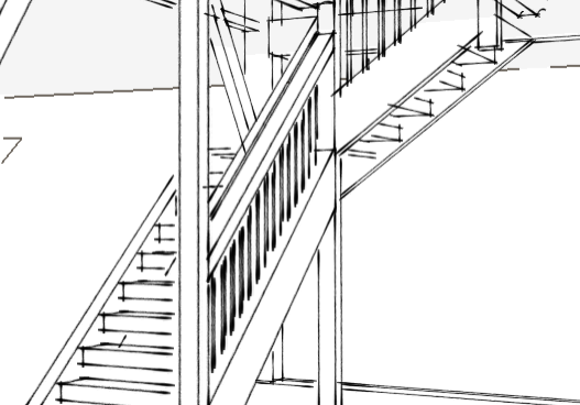 TImber Frame Stairs